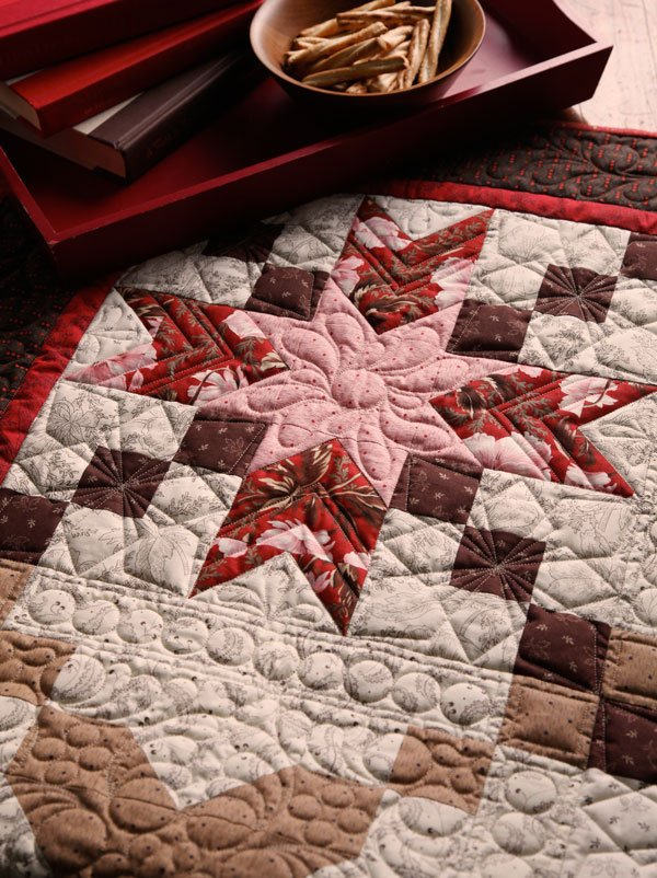 Stunning Star-Crossed Quilt