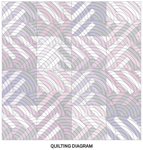 Purple Play Quilting Diagram