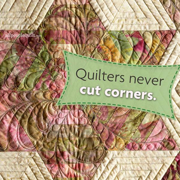 Quilt Quote