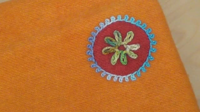 How To: Rosette Chain Stitch