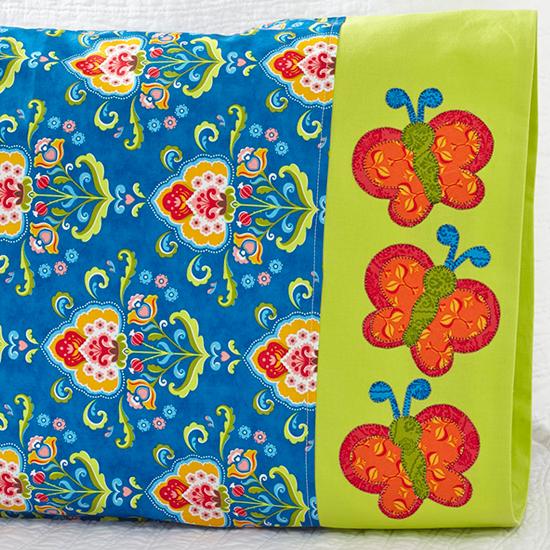 Moda Fabrics - Butterfly Appliqué