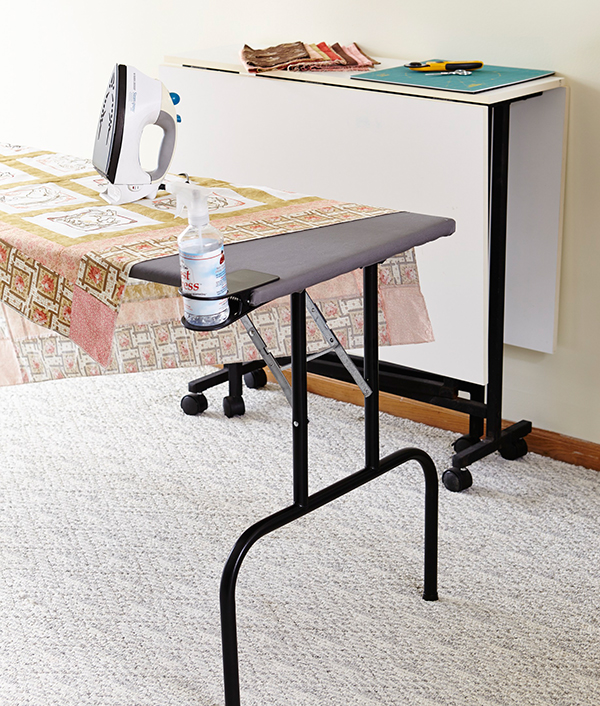 Tuck-Away Pressing Table
