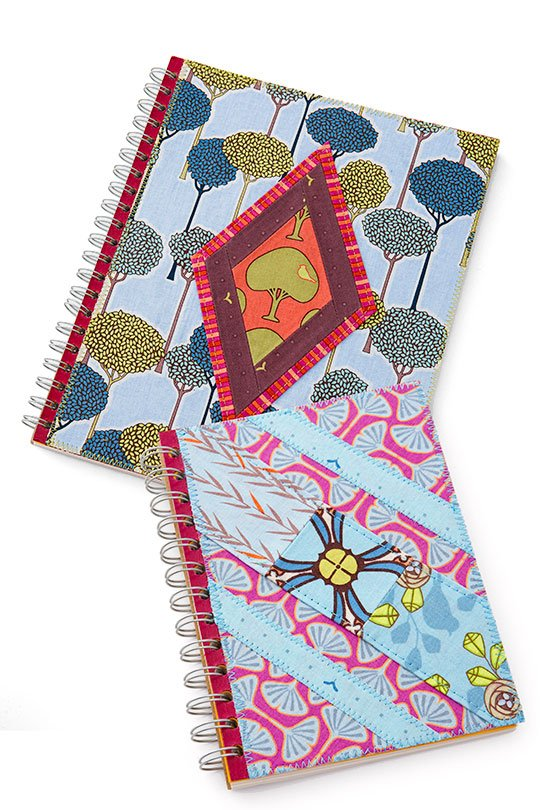 Fabric-Covered Notebook