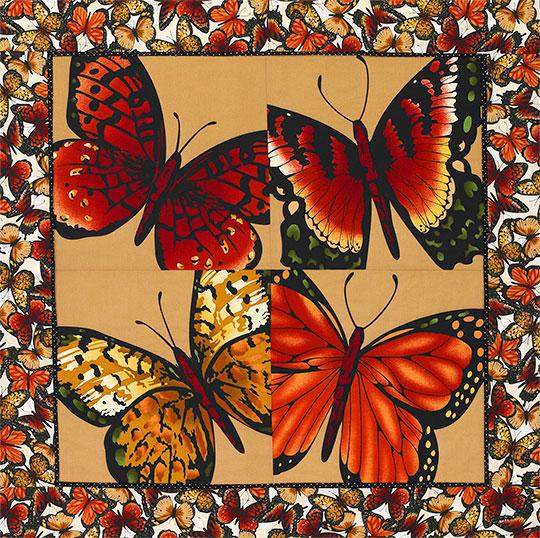 Butterfly Floor Pillow