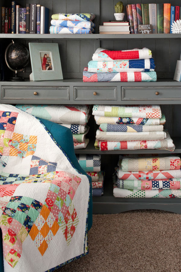 Stacks of Quilts