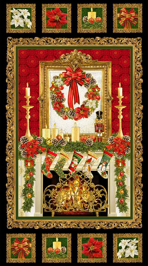 Christmas Fabric Panels 2015