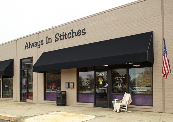 Always in Stitches