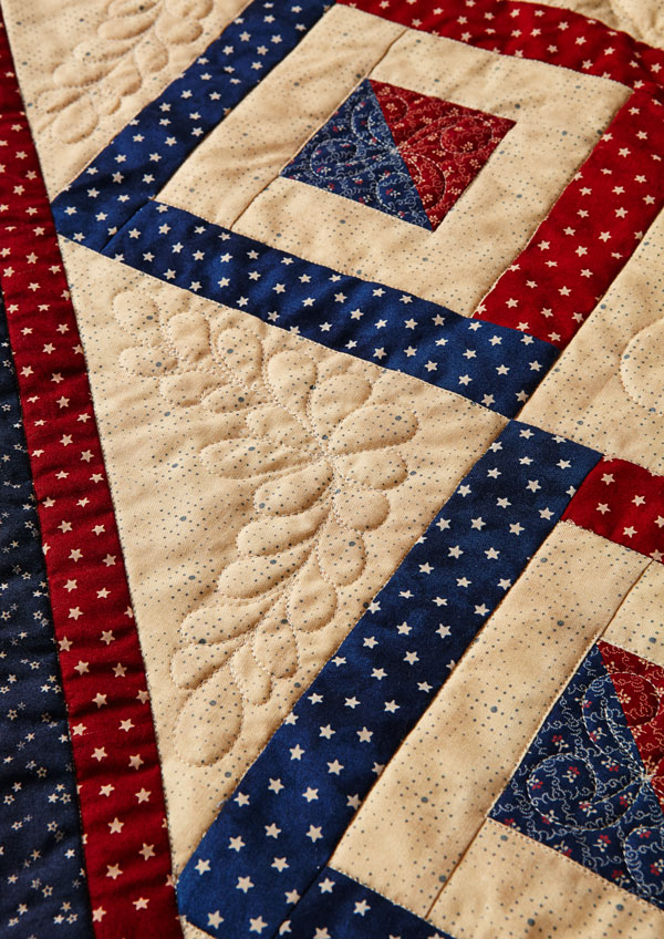Remembering the Past Machine-Quilting Details