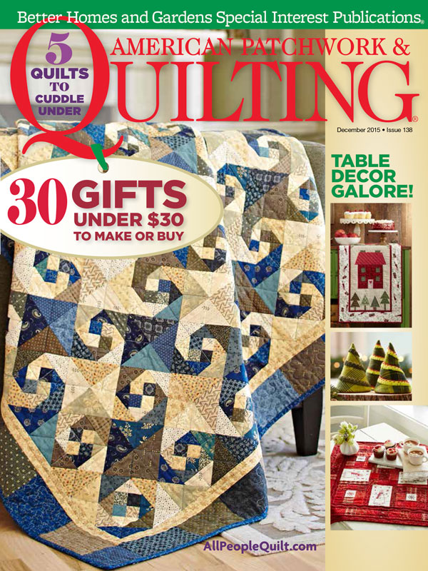 American Patchwork & Quilting December 2015