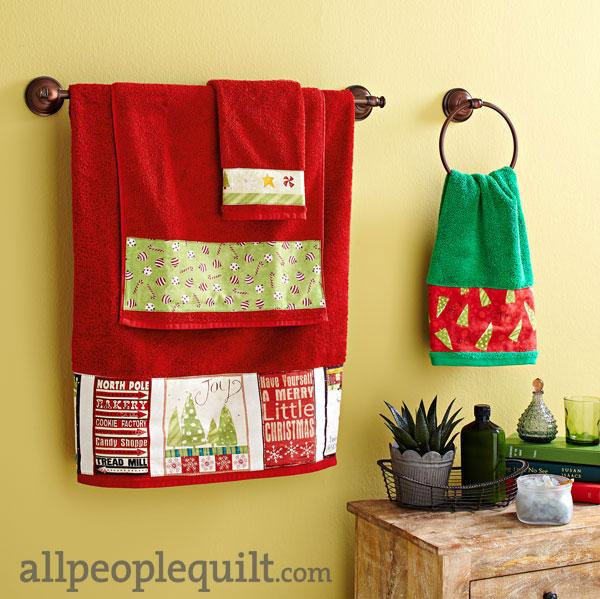 Festive Towels