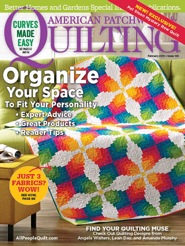 American Patchwork & Quilting February 2016