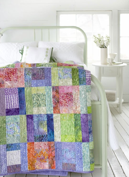 Top Batik Pattern: Splashes of Color