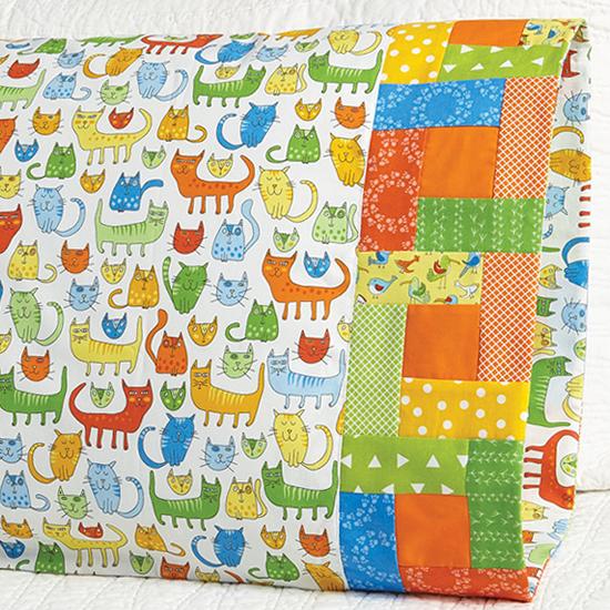 Robert Kaufman Fabrics - Pillowcase 54 Building Blocks Band