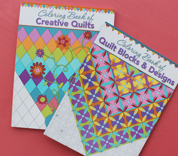 Coloring Book of Quilt Blocks & Designs