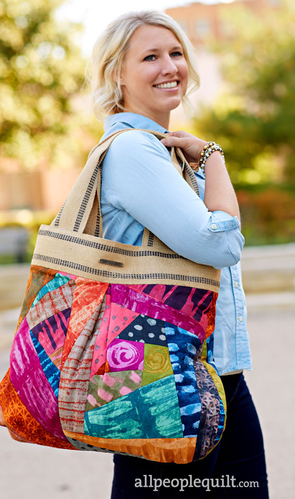 Crazy Patch Tote