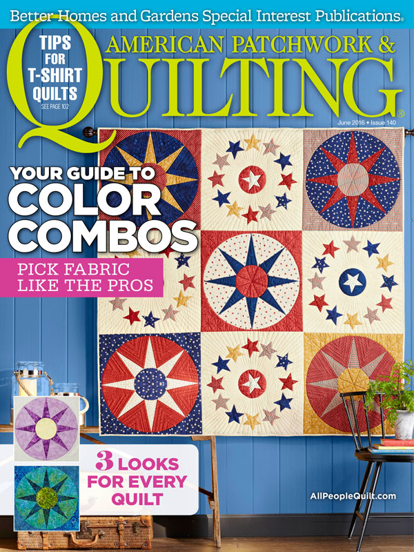 American Patchwork & Quilting June 2016