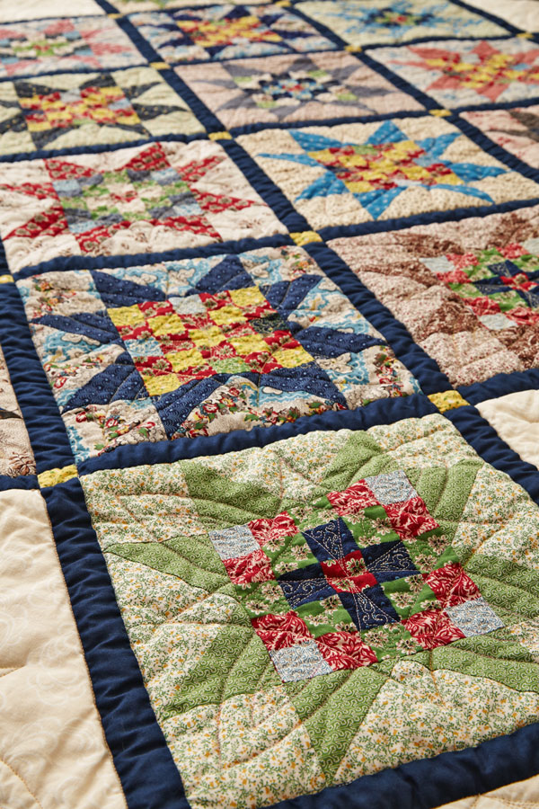 Timeless Appeal Machine-Quilting Detail