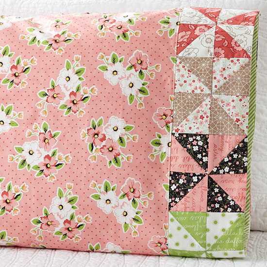 Moda Fabrics - Pattern 58 Pinwheel