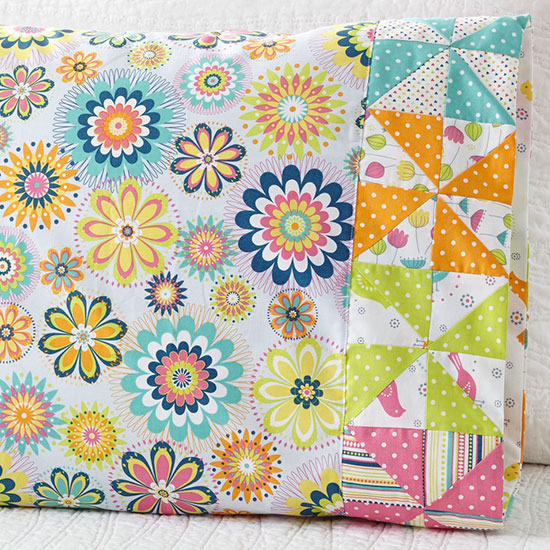 Timeless Treasures - Pattern 58 Pinwheel