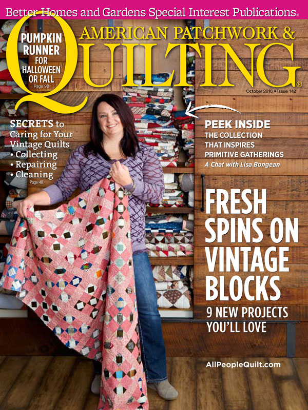 American Patchwork & Quilting October 2016