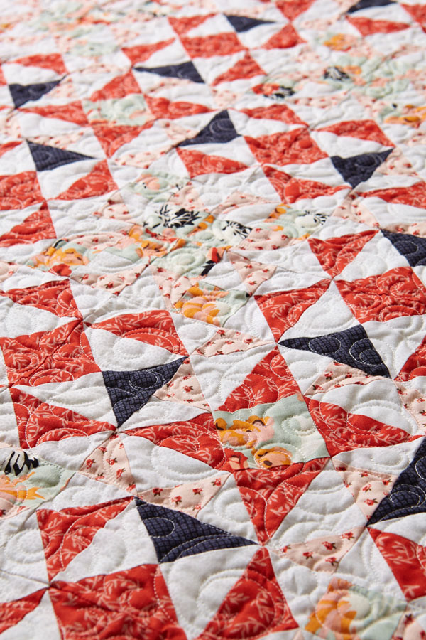 Light & Lovely Machine-Quilting Detail