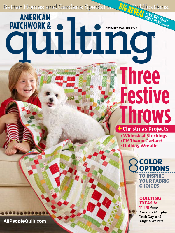 American Patchwork & Quilting December 2016