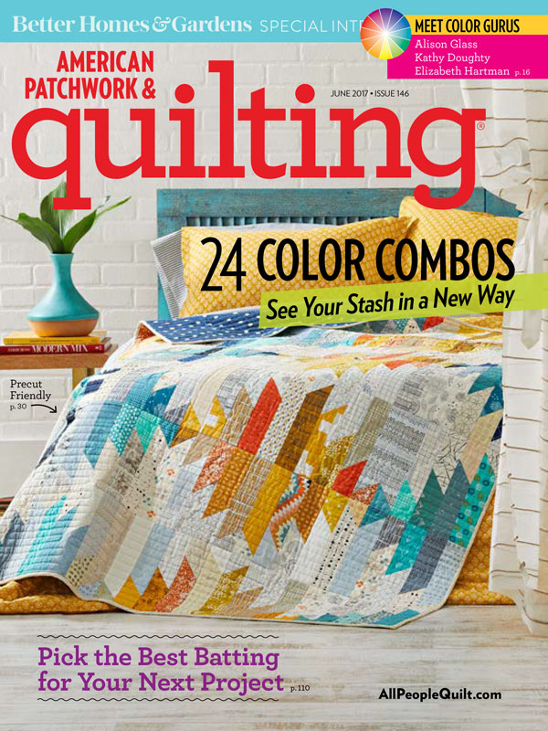 American Patchwork & Quilting June 2017