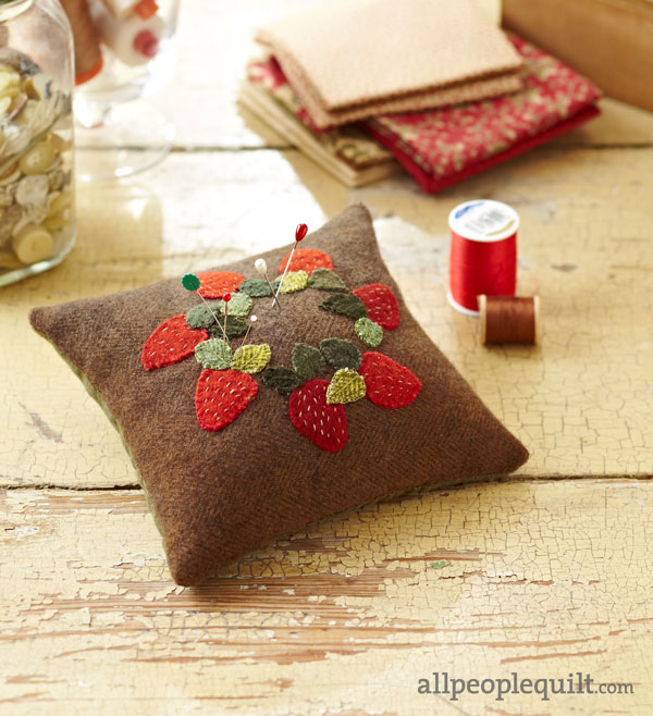 Pint-Size Pincushion