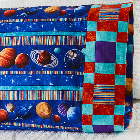 Northcott - Pillowcase 64 Plaid Band
