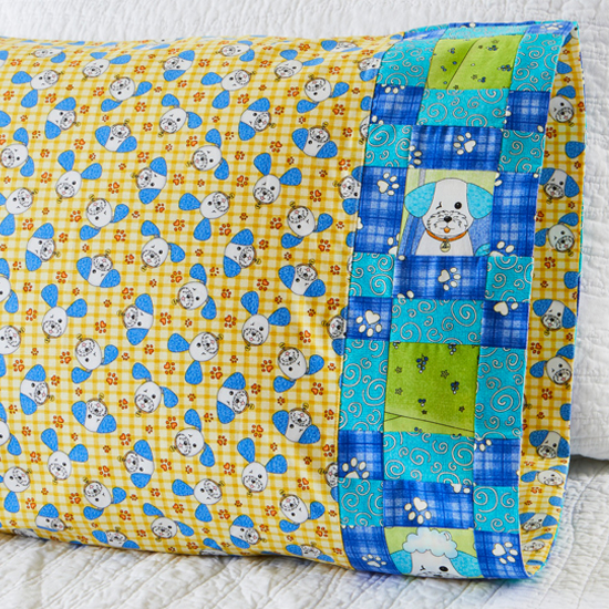 Benartex - Pillowcase 64 Plaid Band