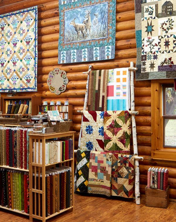 The Log Cabin Quilt Shop