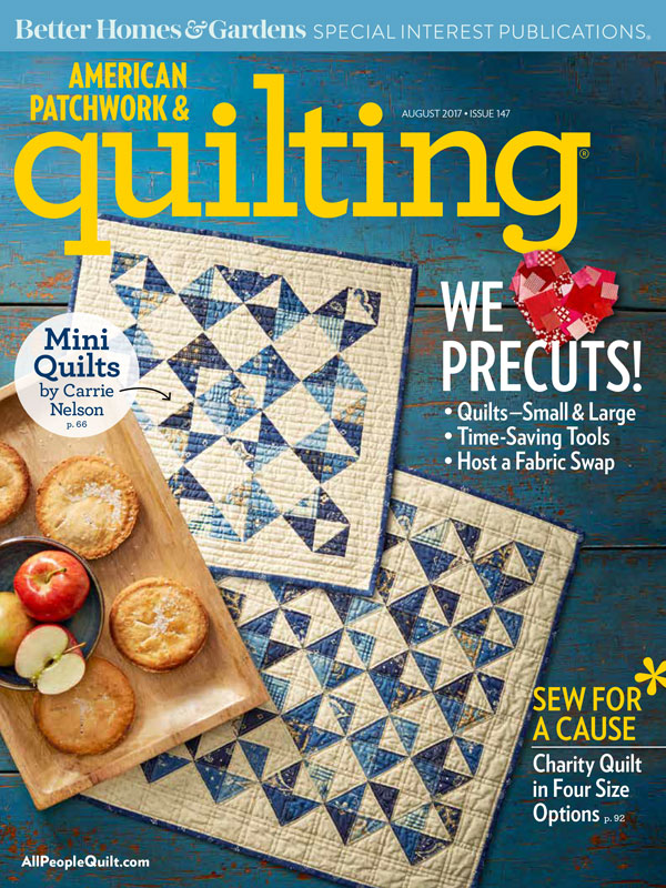 American Patchwork & Quilting August 2017