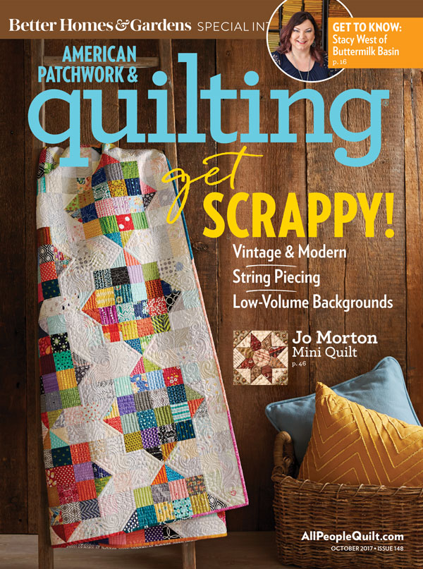 American Patchwork & Quilting October 2017