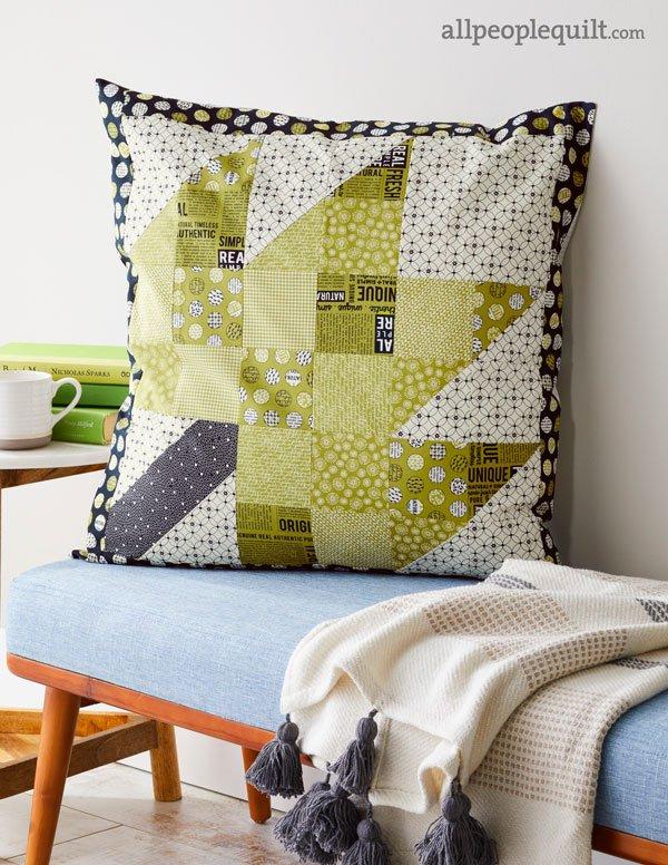 Modern Maple Pillow