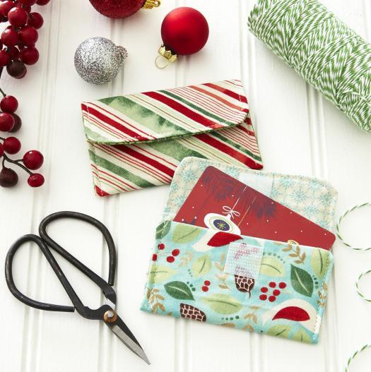 Fabric Gift Card Holder Allpeoplequilt Com