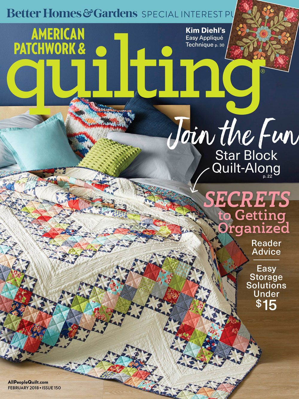 American Patchwork & Quilting February 2018