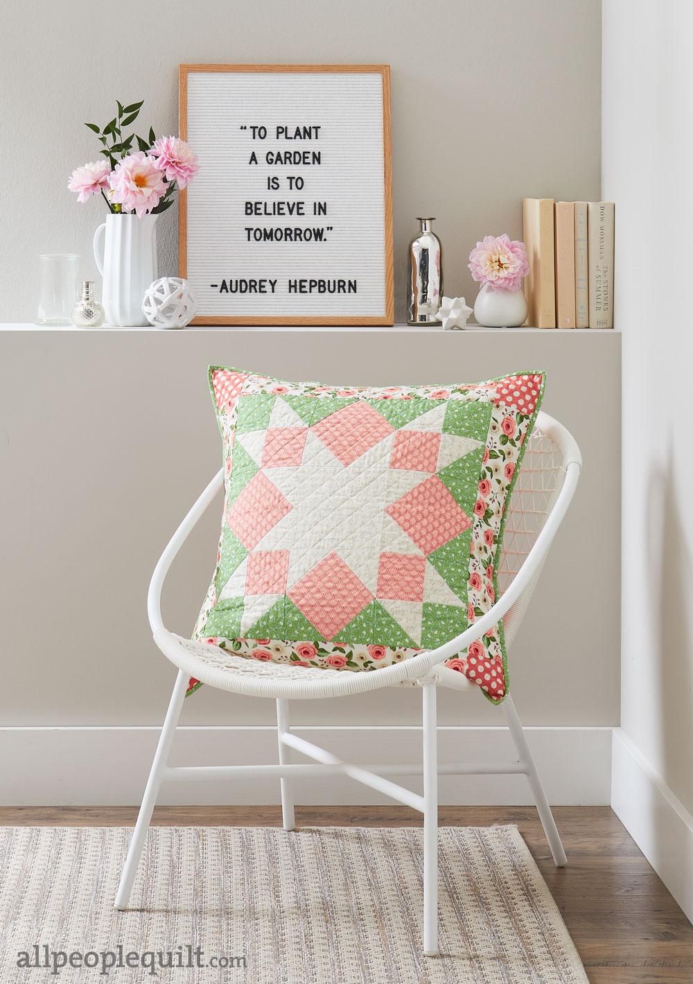 Stitch & Switch Pillow: Spring