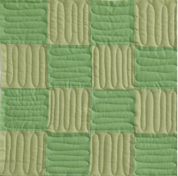 Four-Patch: Wavy Lines