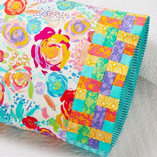 Moda Fabrics - Pillowcase 72: Woven Ribbon Band