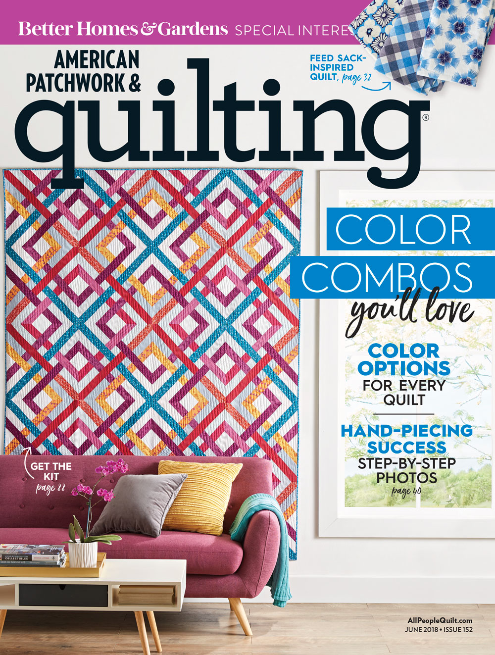 American Patchwork & Quilting June 2018