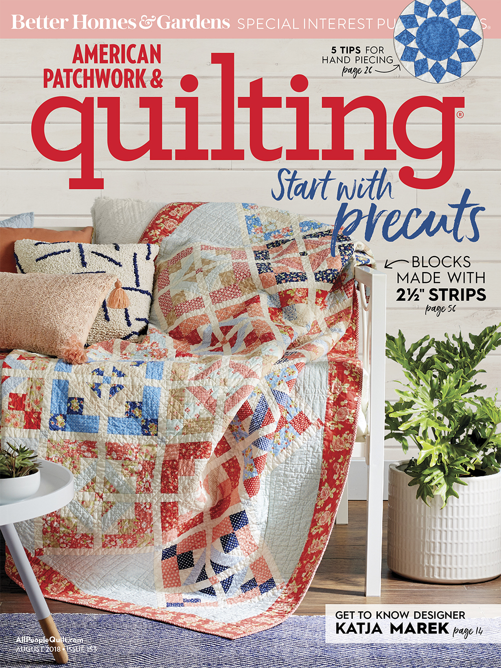 American Patchwork & Quilting August 2018