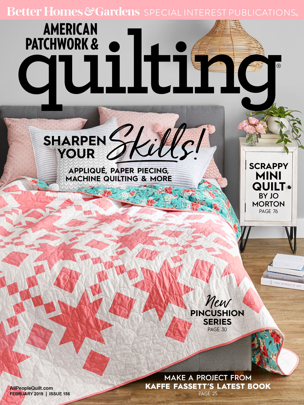 American Patchwork & Quilting February 2019