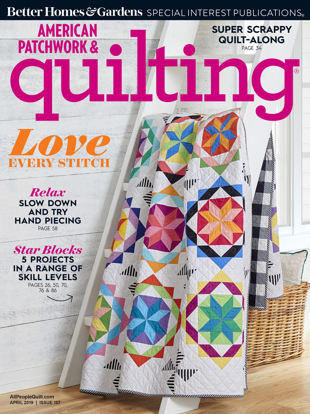 American Patchwork & Quilting April 2019