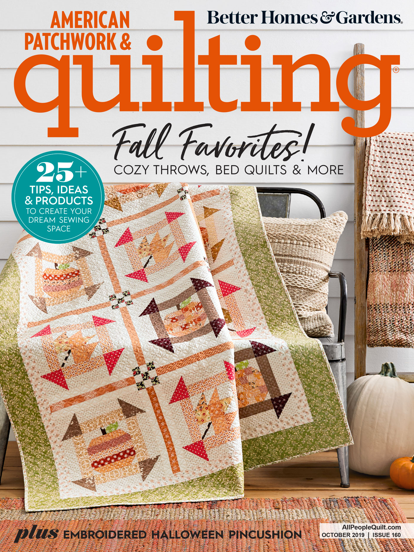 American Patchwork & Quilting October 2019