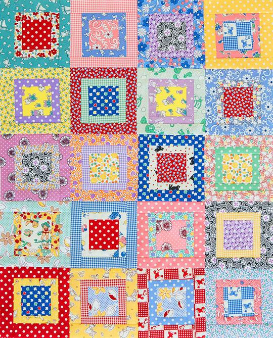 Charm Squares Table Topper