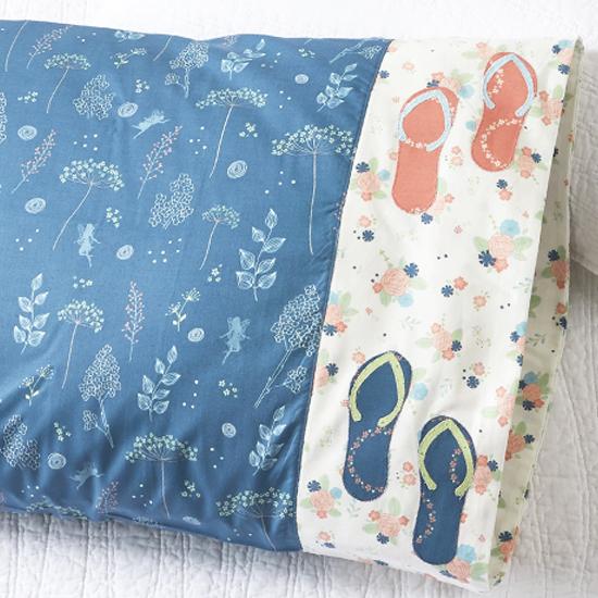 Riley Blake Designs - Pillowcase 83: Flip Flop Appliqué