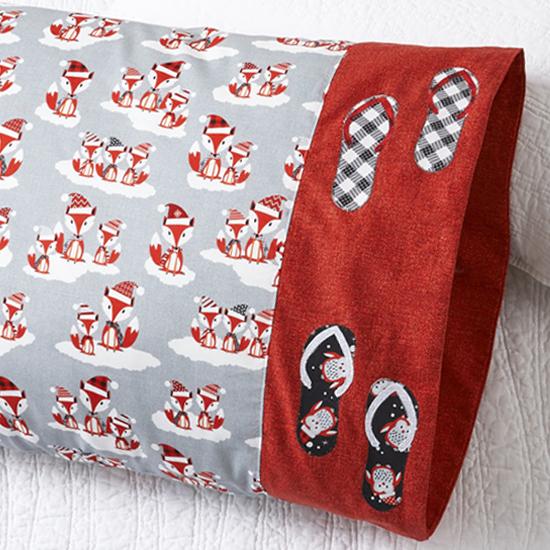 Benartex - Pillowcase 83: Flip Flop Appliqué