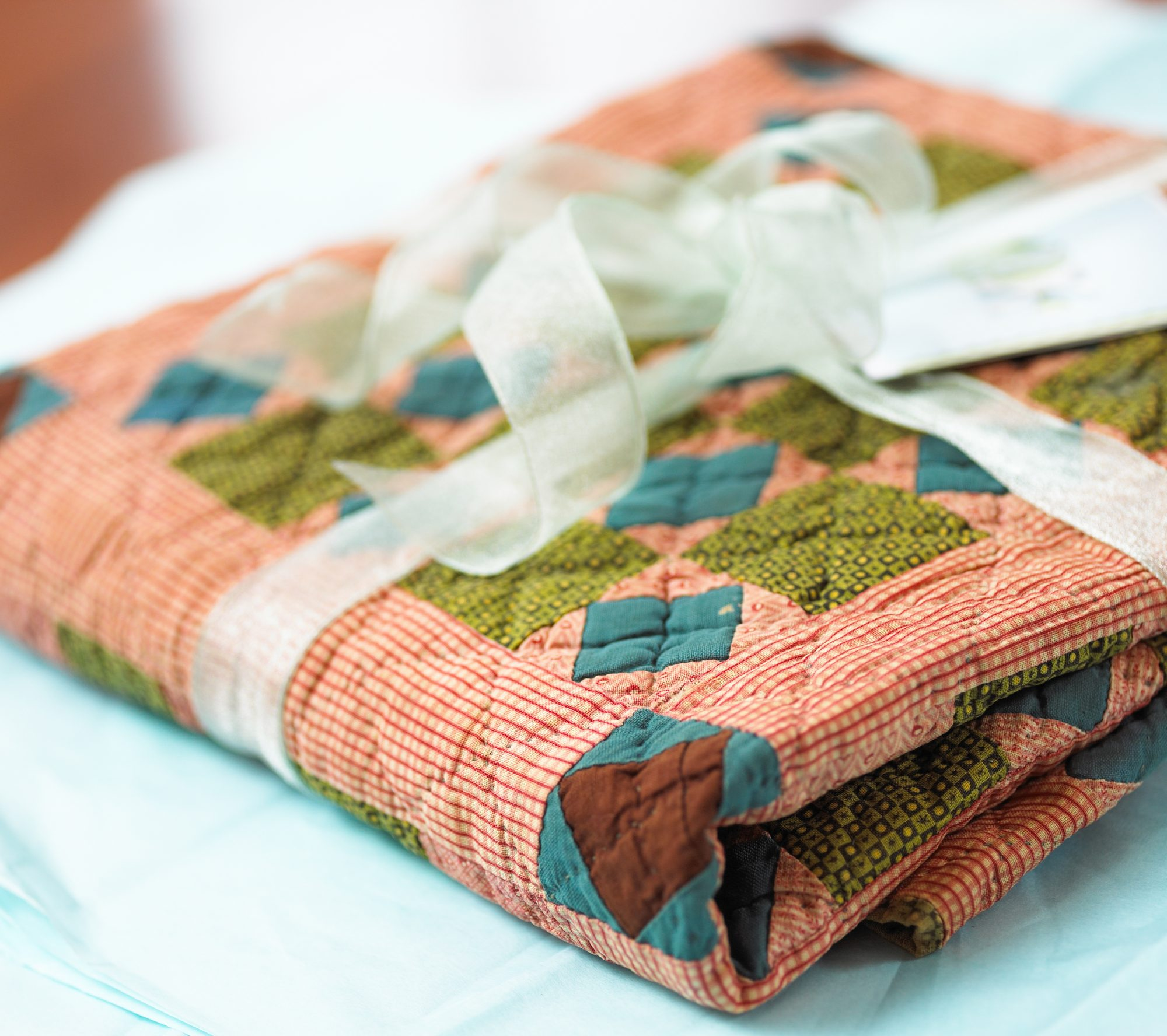 antique quilt