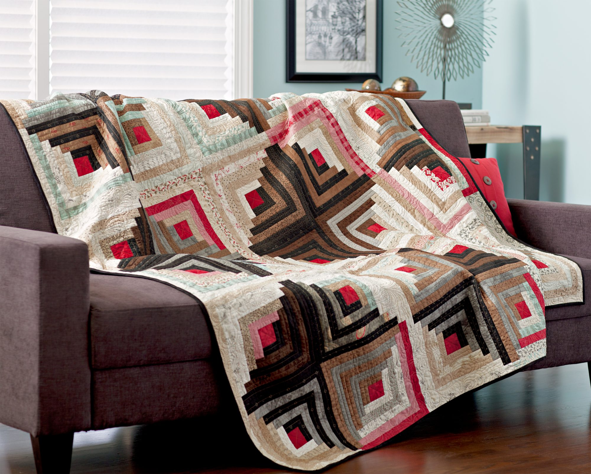 History Of Log Cabin Quilts Allpeoplequilt Com