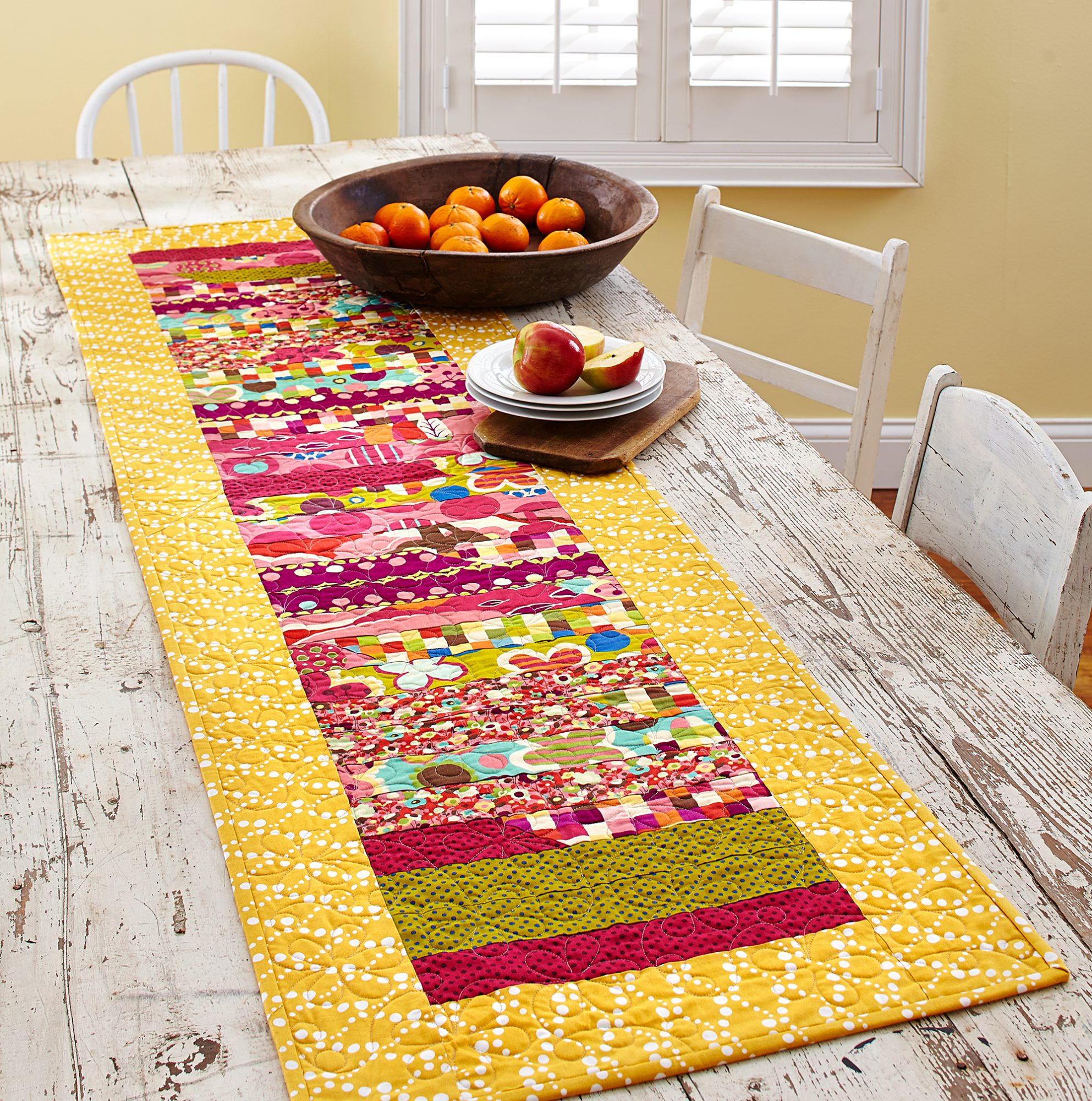 Free Table Runner Patterns Allpeoplequilt Com